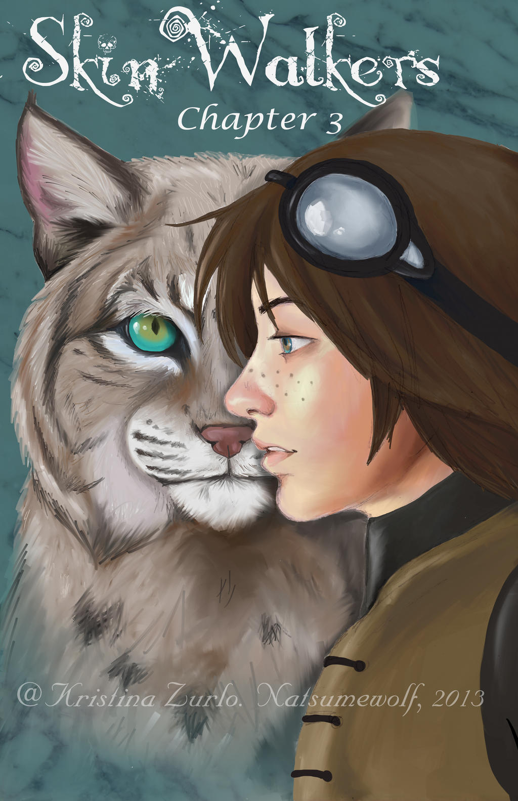 Neka Bobcat Chapter Art by NatsumeWolf