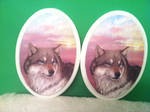 Wolf Plaques