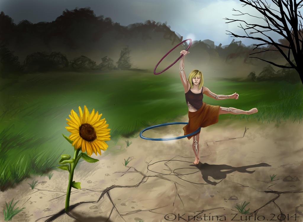 Sunflower by NatsumeWolf