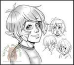 Luka head sketches