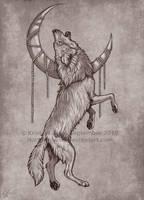 Wolf Tattoo Design by NatsumeWolf