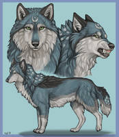 Moonsong Reference Sheet by NatsumeWolf