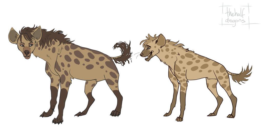 Hyenas by dragonjos