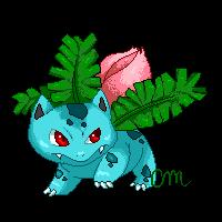 #002 Ivysaur by CrystalMyu