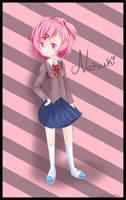 Natsuki (Doki Doki Literature Club) by ItsMeKurisu