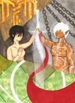 2021.02.28 Dragon Age 2 Tarot Card The Lovers by kuray90