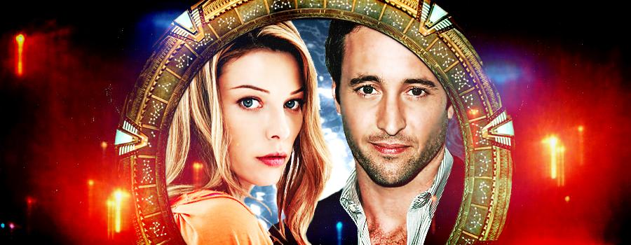 Lori + Steve + Stargate banner + icon + fanfic by