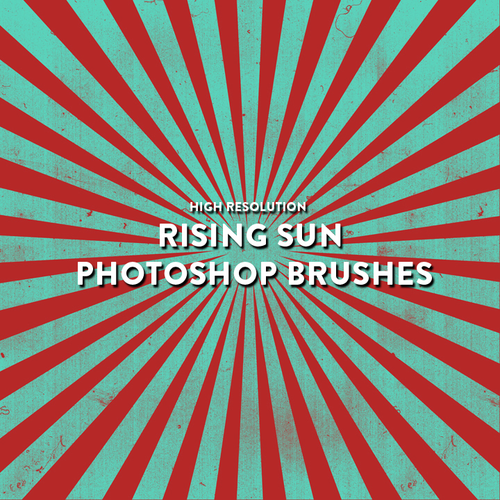 Rising Sun Photoshop Brush Pack by photoshophut