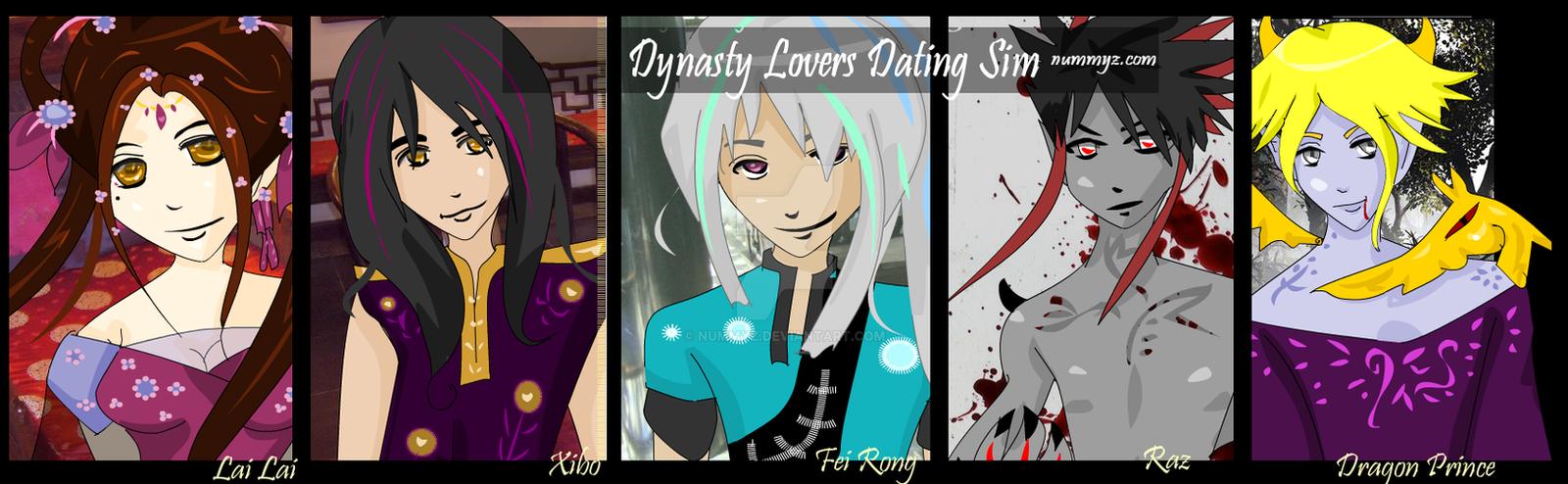 DYNASTY LOVERS Dating Sim RPG by nummyz