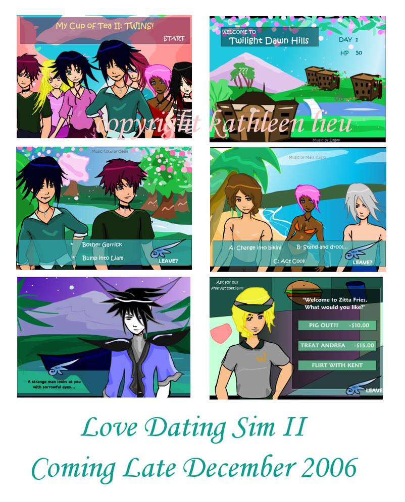 Anime dating sim flash game 9