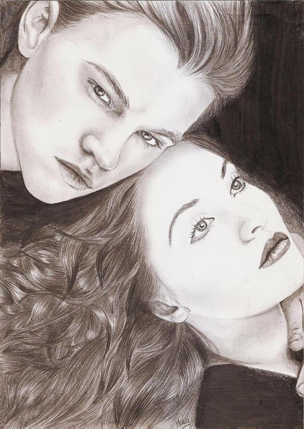 Leonardo DiCaprio Kate Winslet by crayon2papier on DeviantArt