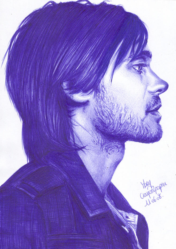 Jared Leto 6 by crayon2papier