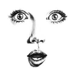 Amy Adams by crayon2papier
