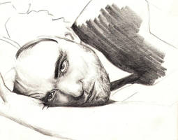 Robert Pattinson 4 WIP by crayon2papier
