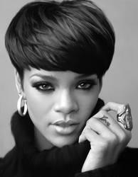 Rihanna by crayon2papier