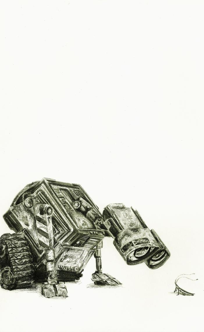Wall-E by crayon2papier