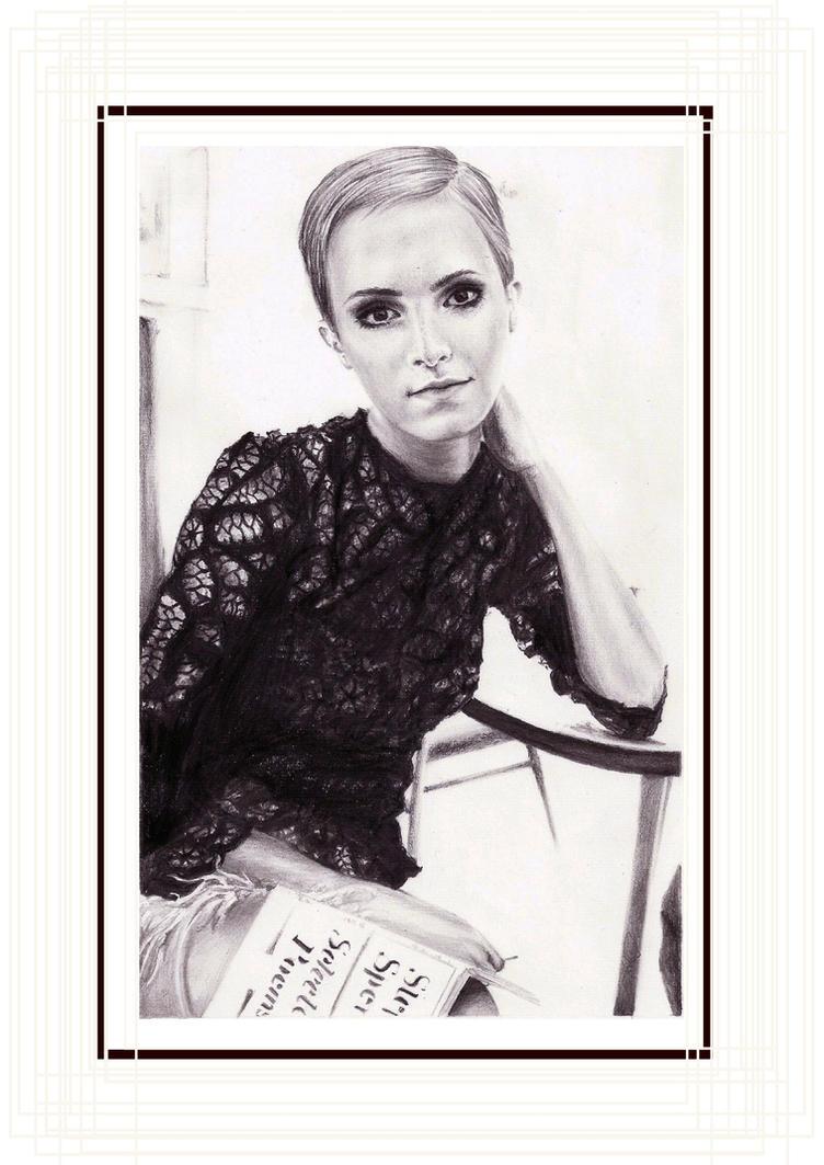 Emma Watson 7 by crayon2papier