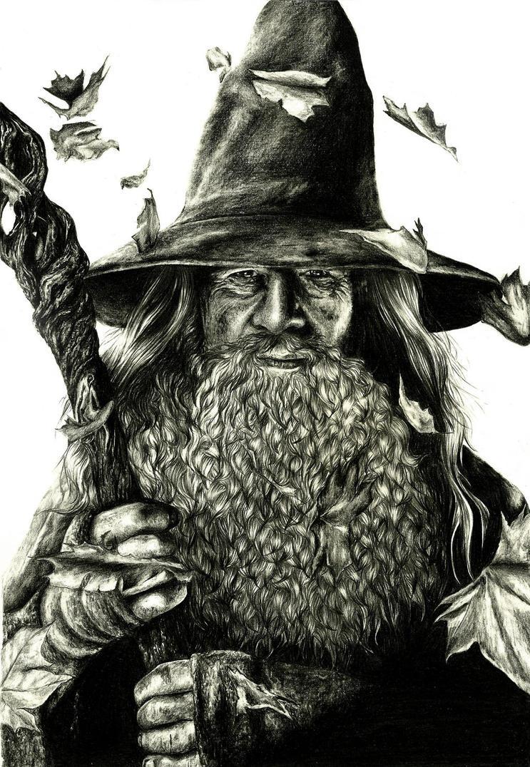 Gandalf by crayon2papier