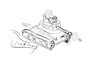 Raid-Panzer by Lichtimon