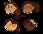 Hamilsquad Stickers(chibi)