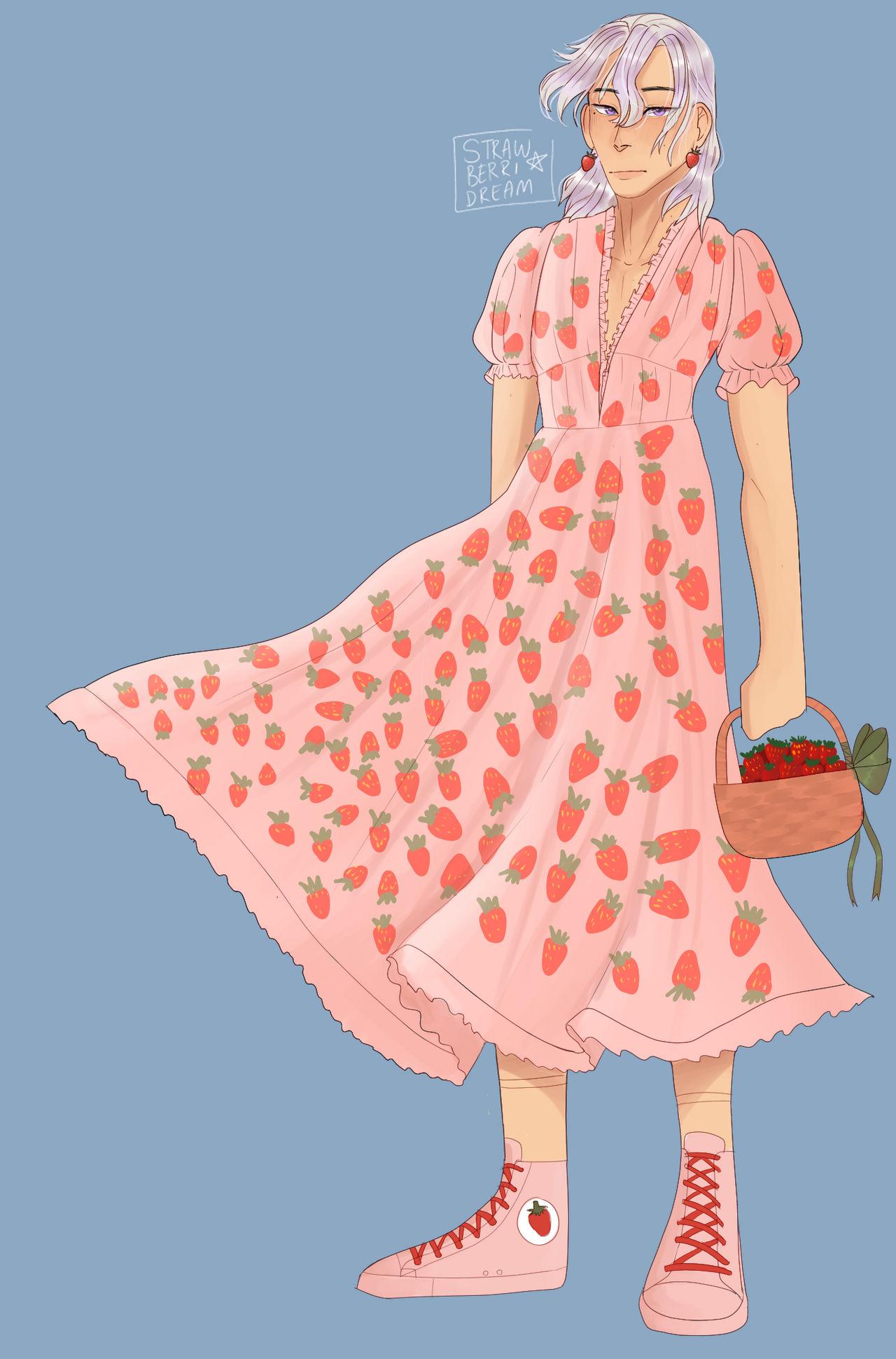 Strawberry Dress Fugo