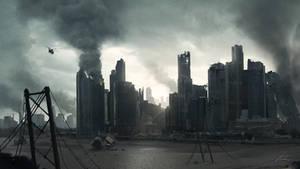 Apocalyptic City Scape