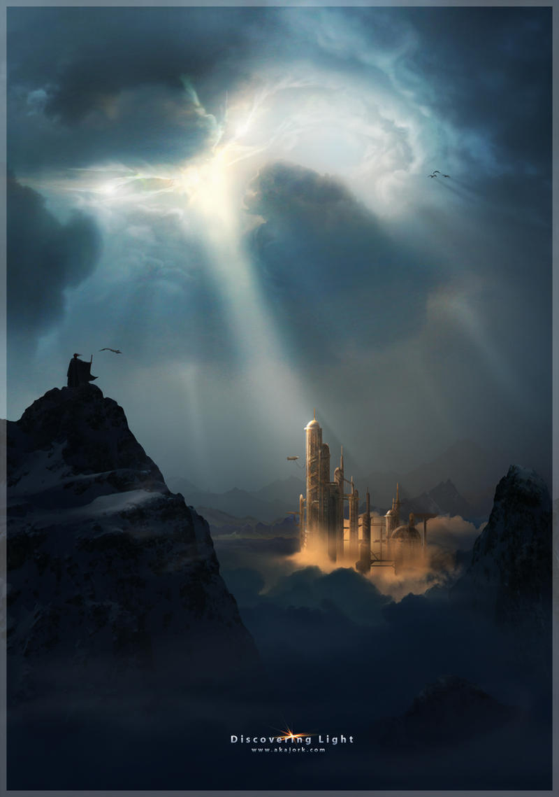 dans Divers Discovering_Light_by_Akajork