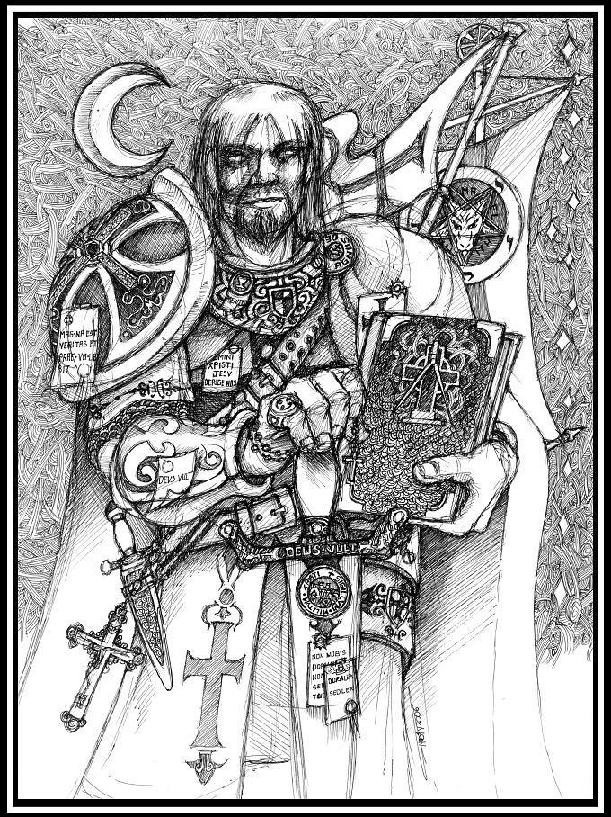 Knights of Templar by Jaxtus8a6