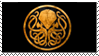 Cult of Cthulhu Gold Stamp by Syphorean