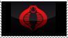 Cobra stamp by Syphorean