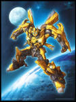Bumblebee art for AA09