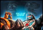 TF Beast Wars Con Print