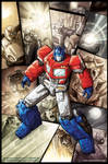 Transformers ReGeneration One 80.5 cover