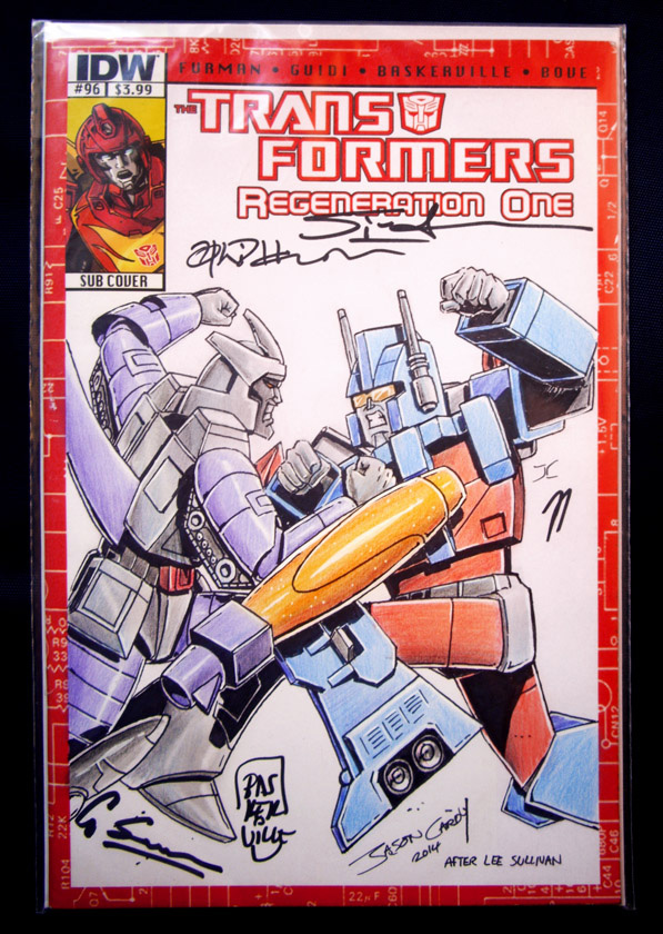 TF Regeneration One Sketch Cover Charity Auction by JasonCardy