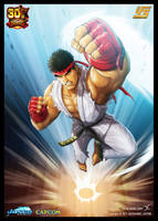 UFS SF 'Ryu's Shoryuken' by JasonCardy