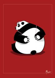 Panda Deviant by Hoegstern