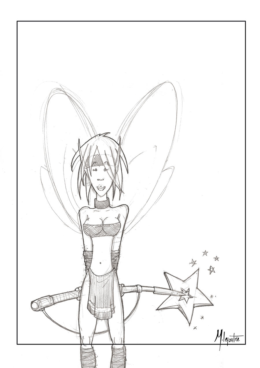 Fairy 2 Deviant by Hoegstern