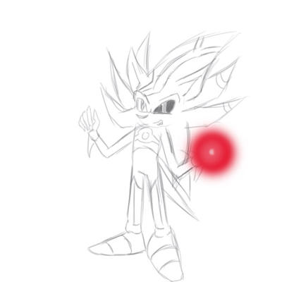 2 sketch Perfect Cyber nazo by sira-the-hedgehog