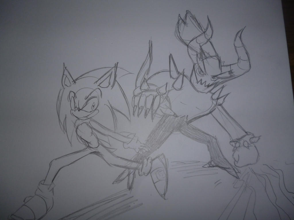 Sonic lost world Sketch for SEGA by sira-the-hedgehog