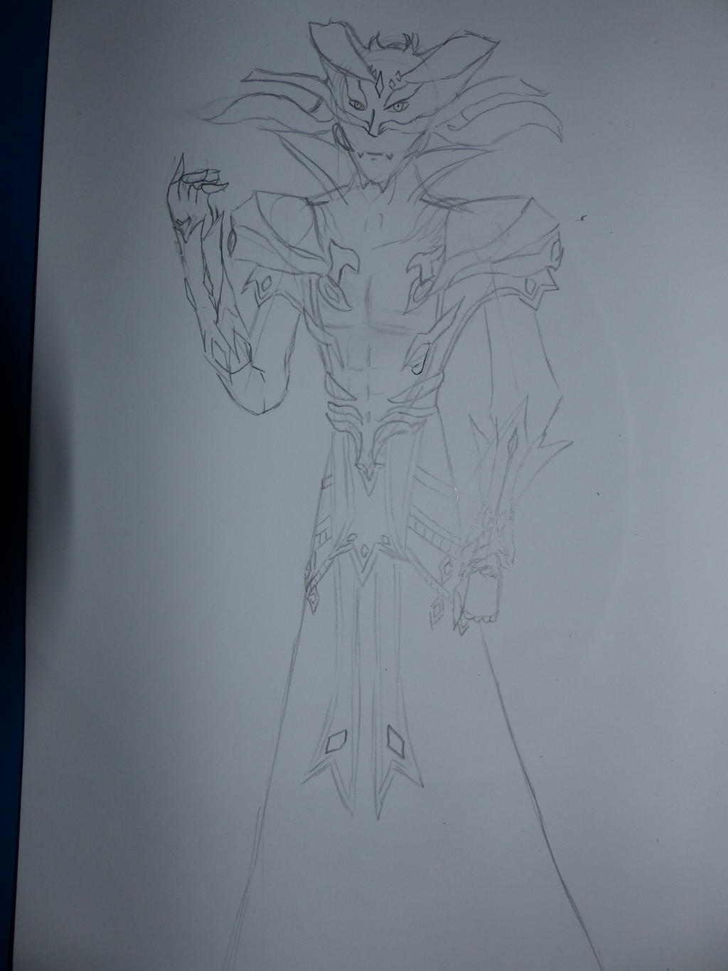 The God of Chaos : Draw for u, my lord