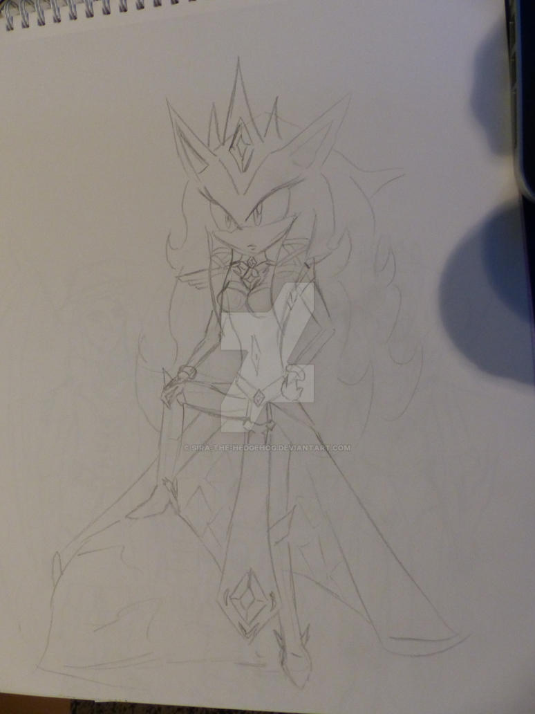 Queen Sira The Hedgehog - New look by sira-the-hedgehog