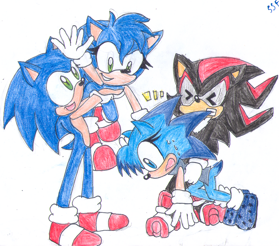 Hedgehog Planes Art Trade by SonicStaryFan