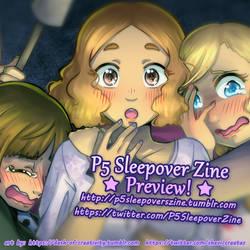 Starlight (P5 Sleepover Zine) Preview