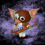 Gizmo on the Keytar