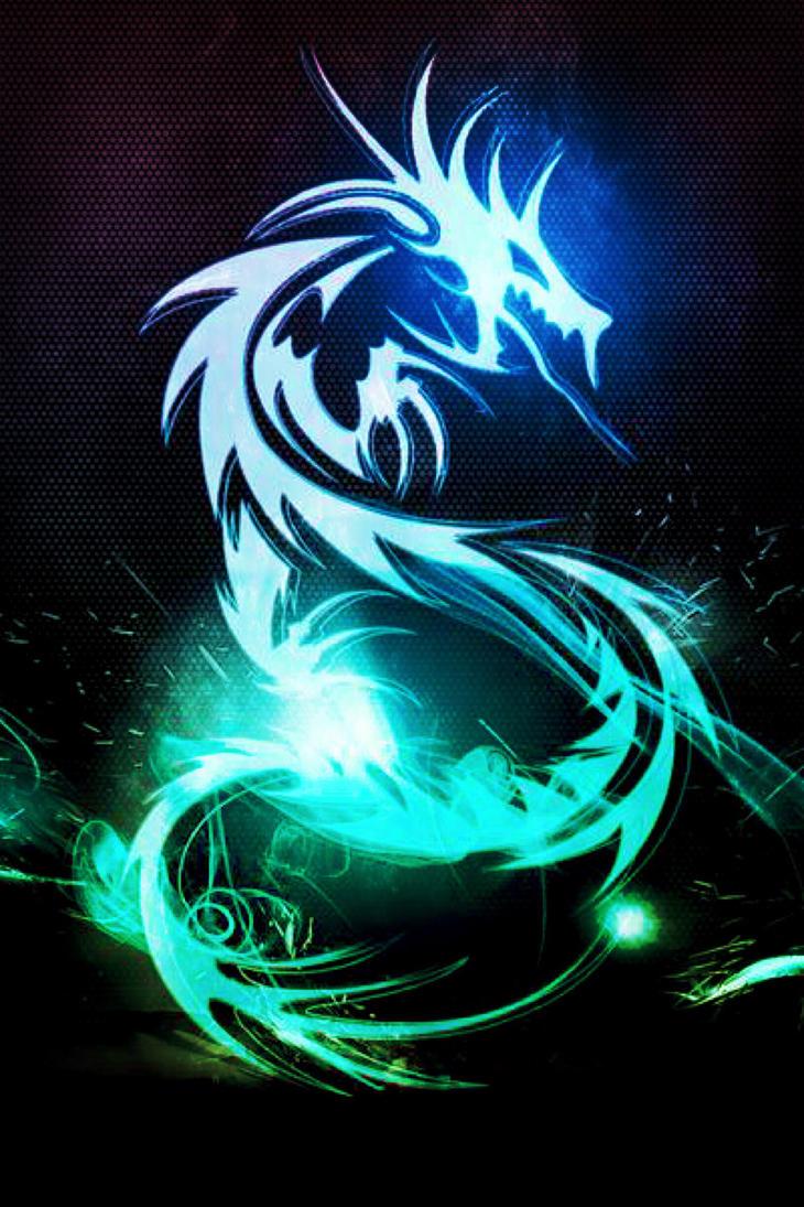 Neon Dragon(Vintique edit) by XxDannehxX on DeviantArt