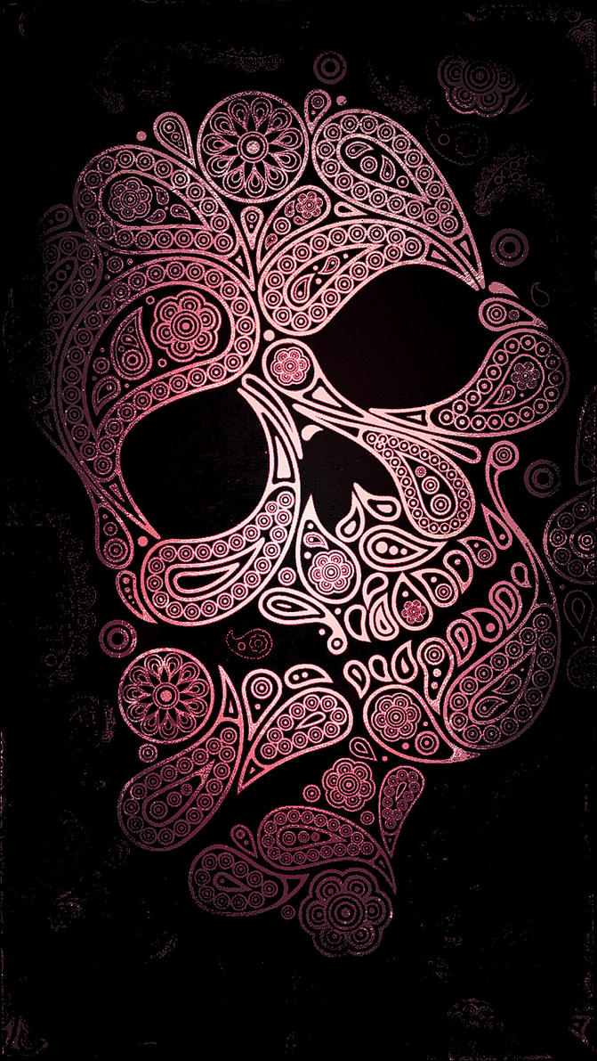 Pink and black floral skull phone wallpaper by xxdannehxx on deviantart pink and black floral skull phone wallpaper by xxdannehxx mightylinksfo