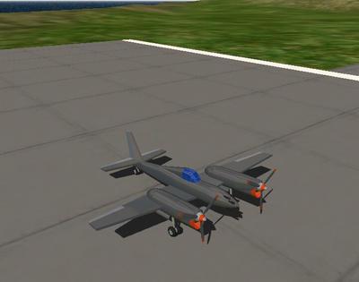 Twin engine P-40 by XxDannehxX