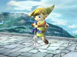 Sword in the Stone Toon Link
