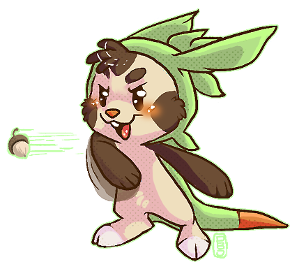 Chespin by PBnJam