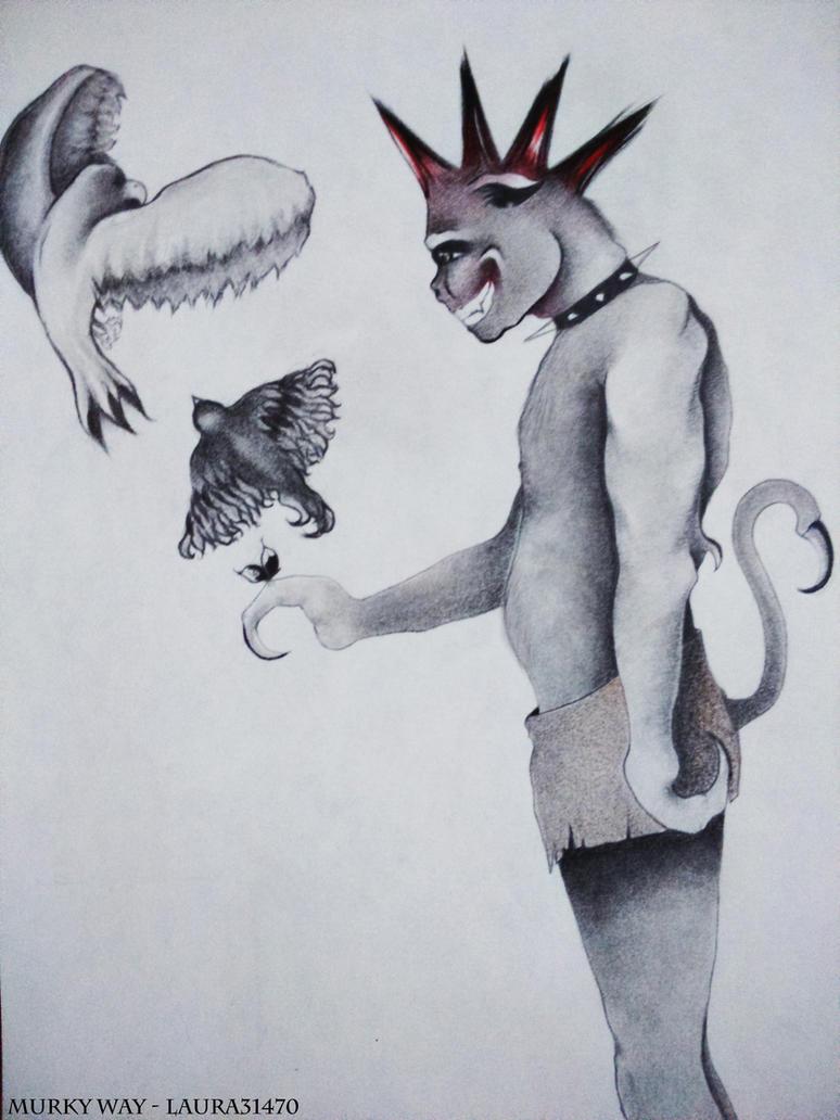 Sensitive Big Monster by Laura31470